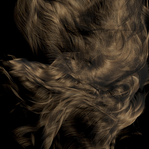 abcimport shader 支援 hair import